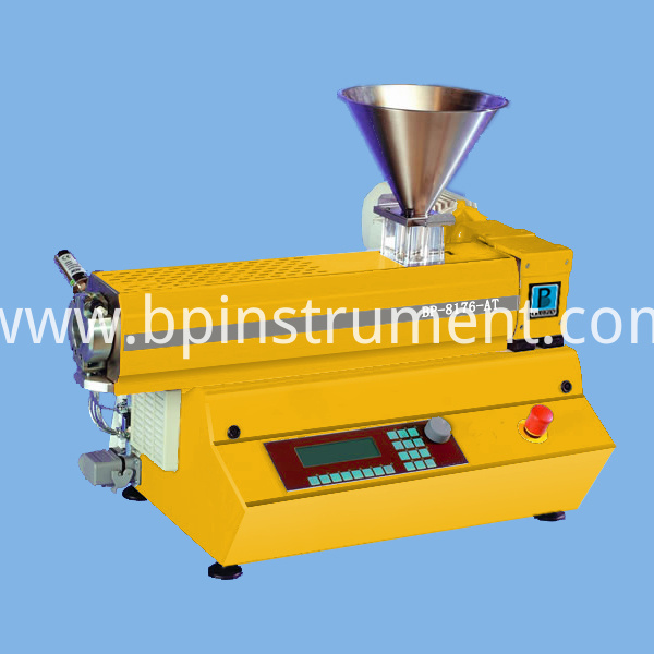 Desktop Single Screw Extruder/ equipment control