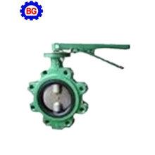 Луг тип PTFE/EPDM/NBR подкладка клапан-бабочка