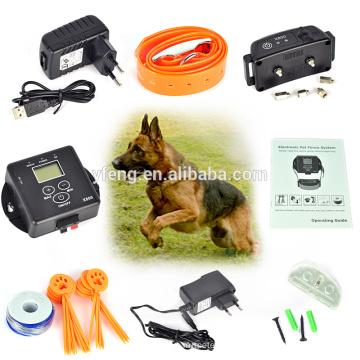 5000 квадратных метров беспроводной невидимый электронные собак Pet фехтования системы для собак Pet безопасности собака Электрический забор контроллер