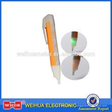 Testeur de force de champ électrique de détecteur de tension sans contact avec l'induction d'électrode de cuivre d'alarme de Buzz et de clignotant VD02T