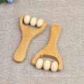 Masajeador de cara de madera hecho a mano de la venta caliente