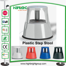 Heavy Duty Plastic Rolling Mobile Kick Step Stool