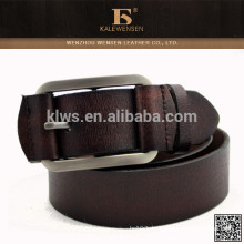 Baratos de buena calidad cuero de vaca cuero genuino cinturones