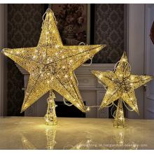 Outdoor LED Star Decoração Estrela de iluminação de Natal