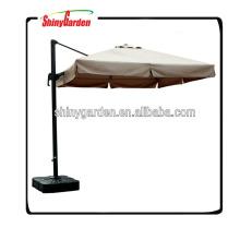 3X3M paraguas de lujo de gran tamaño jardín al aire libre paraguas de aluminio romano sombrilla a prueba de mal tiempo patio de la sombrilla