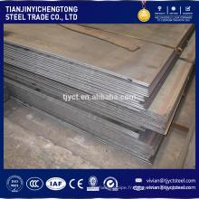 Tôle d'acier doux de carbone SS400 Q235 S235JR tôle d'acier Tôle d'acier doux de carbone SS400 Q235 S235JR tôle d'acier