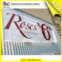 Design elegante cusotm banner promocional de cores impressão e impressão bandeira banner