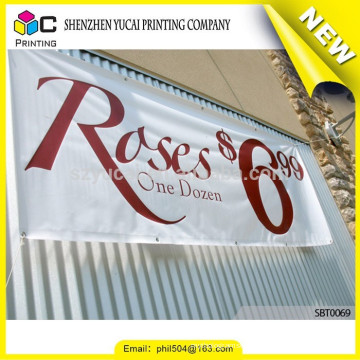Factory price PVC flag and banner printing