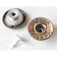 Серебро Перемещение Кнопки Джинсы B298
