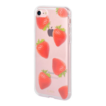IML PC & TPU Hybrid Straberries Iphone8 Plus Protective Case