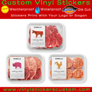 Custom Organic Foods Private Label, Frozen Food Grade Labels