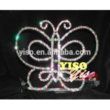 Kostüm Braut Kristall Festzug Kristall Tiaras für Mädchen