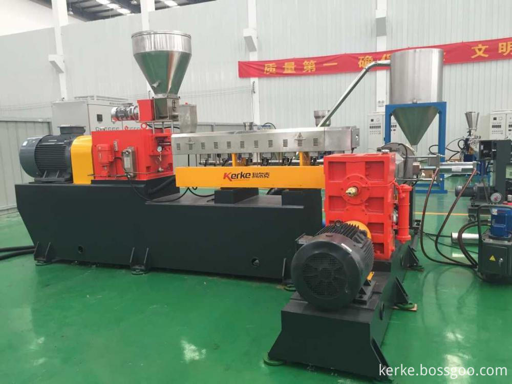 two stage compounding granulator