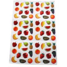 crianças que jogam etiquetas de porta de cartão de PVC de frutas