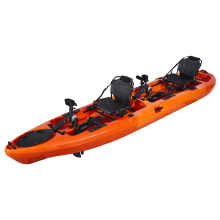 Pedal Drive Kayak Industrial Fishing Boats For Two Adults