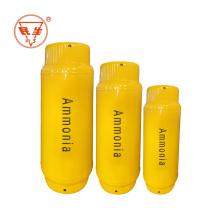 Cilindro industrial de amoníaco líquido 400L estándar ISO