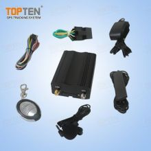 Автомобиль безопасности GPS Tracker с сигнализацией, пульт дистанционного управления для автомобиля / грузовик / флот (TK103-ER)