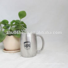 cheap highquality promotional silver beer mug