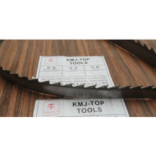 Bande de scie à ruban en acier carbone pour bois