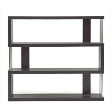 Black Ladder Metal Bookcase houten plank