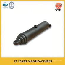 telescopic hydraulic cylinder for dump hoist