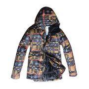 Men\'s ski jacket/winter jacket with printing design