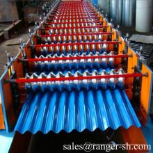 Telhado ondulado rolo formando máquina/telha Perfiladeira