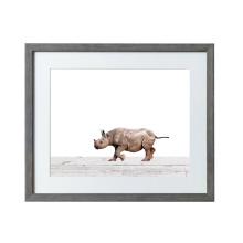 코뿔소는 벽 커튼 디자인