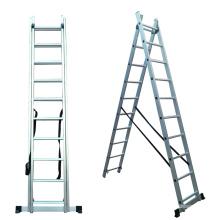 24 steps aluminum combination ladder A frame aluminum ladder folding hunting ladder stand
