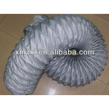 grey glass fabric durable high temperature duct