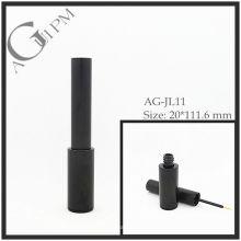 Aluminio redondo delineador de ojos tubo/delineador envase AG-JL11, empaquetado cosmético de AGPM, colores/insignia de encargo