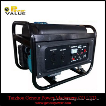 Genour Power Open Frame Open Engine 5kva Small Generator