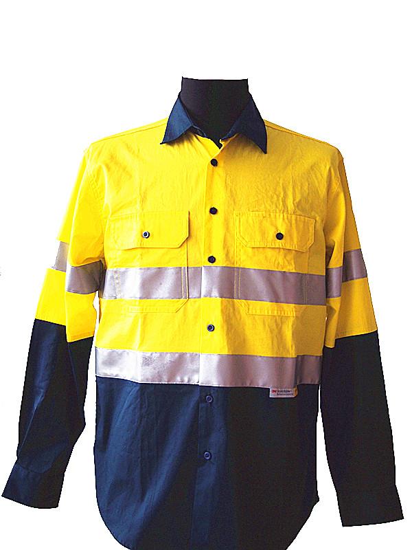 reflective work shirt