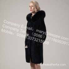 Winter Merino Shearling Coat For Women