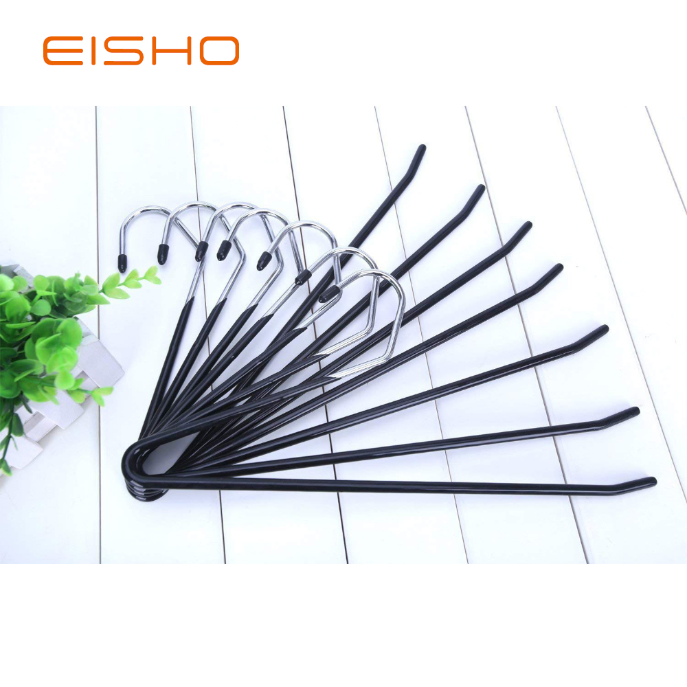 Eisho Wholesale Black Metal Clothes Smooth Pvc 2