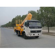 Dongfeng telescopic aerial platform boom lift vehicle device
