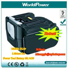 Makita 14.4V3ah Lithium Ion Battery Pack/Akku (WP-MAK-BL1430)