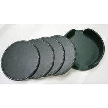 PU Cup Mat PU Pad, Coaster Set