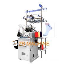 antomatic 3.75 teery and plain sock making machine