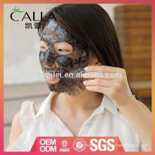 Máscara facial de hidrogel profissional de rendas para atacado