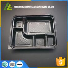 recipientes descartáveis do alimento do plástico do vácuo