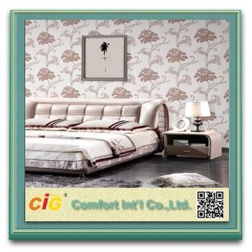 장식 꽃 벽지 280 cm의 뜨거운 판매 섬유 벽지