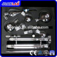 Joan Lab Kits de destilación de vidrio, Kits de cristalería de laboratorio de química orgánica