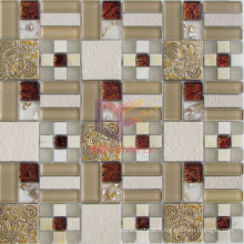 Resin Marble and Crystal Mixed Mosaic (CSR075)