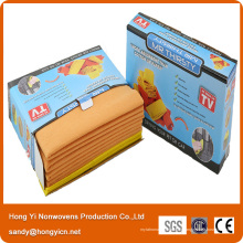 Tissu non-tissé allemand de nettoyage de cuisine de tissu, tissu non-tissé de polyester de 60% de viscose + 40%