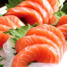Salmón congelado estilo sushi japonés