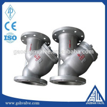 casting steel pipe filter manufacturer