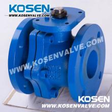 Válvulas de bola flotantes de hierro fundido DIN con funcionamiento de palanca