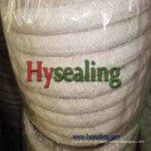 Fibra cerâmica corda redonda com reforço de fio SS