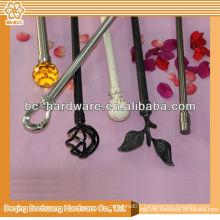 2013 hot curtain rod , plate curtain rod , single curtain rod